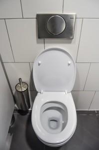 sauberes WC