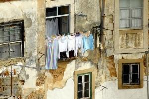 Fleckenentfernung Wäsche