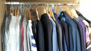 Kleiderschrank vorher