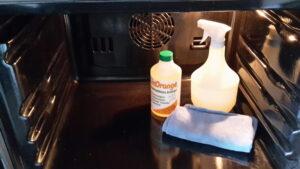 Limorange Backofen sauber